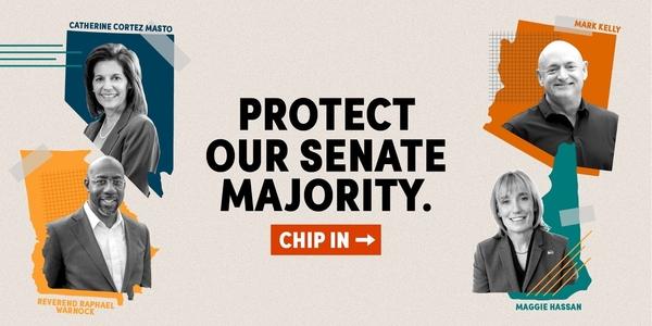 Protect Our Senate: Support Catherine Cortez Masto, Mark Kelly, Maggie Hassan, Rev. Raphael Warnock